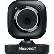 Product Image. Title: Microsoft LifeCam VX-2000 Webcam - 0.3 Megapixel - USB