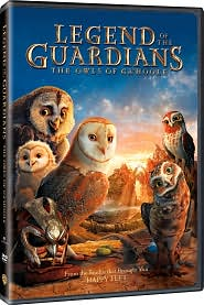 Legend of the Guardians: The Owls Of Ga'Hoole starring Sam Neill: DVD Cover