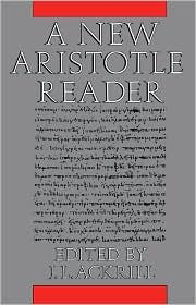 J. L. Ackrill - A New Aristotle Reader