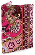 Product Image. Title: Vera Bradley Very Berry Paisley Fabric Paperback Bookcover (5.5X7.75)