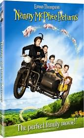 Nanny McPhee Returns starring Emma Thompson: DVD Cover