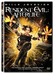 Resident Evil: Afterlife starring Milla Jovovich: DVD Cover