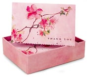 Product Image. Title: Blossoming Branches Thank You Notes Set Of 14