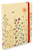 Product Image. Title: Sparkly Garden Multi Colored Bound Journal 5x7