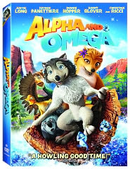Alpha and Omega starring Justin Long: DVD Cover