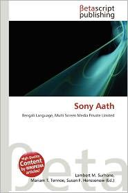 Sony Aath -  Lambert M. Surhone (Editor)