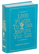 Product Image. Title: 1,000 Places to See Before You Die - Turquoise
