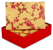 Product Image. Title: Japonica Note Card Set Of 14