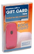Product Image. Title: UltraThin 2 LED Pink Book Light Gift Card Gift Pack