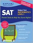 Book Cover Image. Title: Kaplan SAT Subject Test:  Mathematics Level 1, Author: by Kaplan