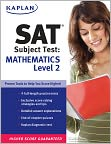 Book Cover Image. Title: Kaplan SAT Subject Test:  Mathematics Level 2, Author: by Kaplan