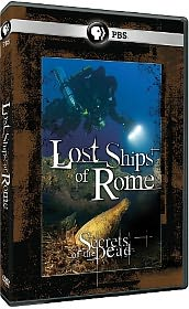 Secrets of the Dead: Lost Ships of Rome starring Liev Schreiber: DVD Cover