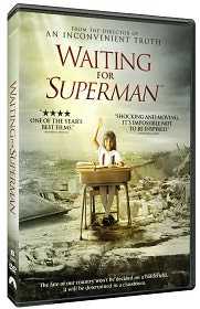 "Waiting for ""Superman"" starring Bianca: DVD Cover"