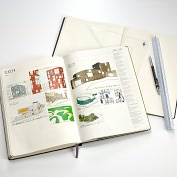 Product Image. Title: Moleskine Hand of the Architect Journal
