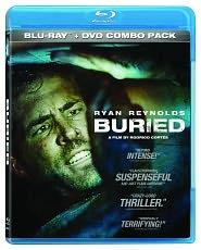 Buried starring Ryan Reynolds: Blu-ray Cover
