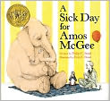 Book Cover Image. Title: A Sick Day for Amos McGee, Author: Philip C.  Stead