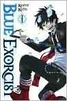 Book Cover Image. Title: Blue Exorcist, Volume 1, Author: by Kazue Kato