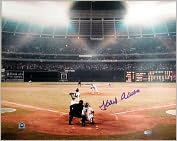 Product Image. Title: Autographed Hank Aaron 715th Home Run16x20 Photograph