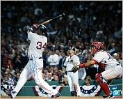 Product Image. Title: Autographed David Ortiz 2004 ALDS Walk Off Home Run 16x20 Photograph