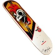 Product Image. Title: Autographed Tony Hawk Authentic Rooster Hawk Skateboard Deck