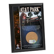 Product Image. Title: San Francisco Giants, AT&T Park 4x6 Plaque with Game Used Dirt