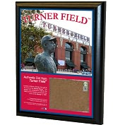 Product Image. Title: Atlanta Braves, Turner Field 8x10 Plaque with Game Used Dirt