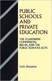 Public Schools and Private Education: T...