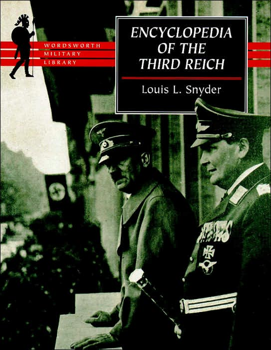 ENCYCLOPEDIA OF THE THIRD REICH book cover