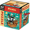 Product Image. Title: Mudpuppy 42 Piece Puzzle - Pirates