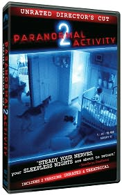Paranormal Activity 2 starring Katie Featherston: DVD Cover