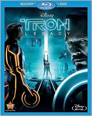 Tron: Legacy starring Jeff Bridges: Blu-ray Cover