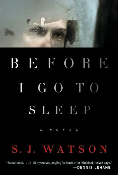 book cover of Before I Go to Sleep by S. J. Watson