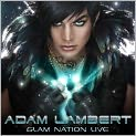 CD Cover Image. Title: Glam Nation Live, Artist: Adam Lambert