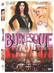 Burlesque starring Cher: DVD Cover