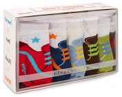 Product Image. Title: Sams Sneaks Socks Six Pack