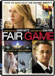 Fair Game starring Naomi Watts: DVD Cover