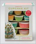Product Image. Title: Pretty Cupcake Kit: Decorate Your Cupcakes Instantly with Beautiful Liners, Flag Toppersm, and Creative Presentation