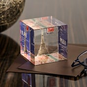 Product Image. Title: Paris Travel Paperweight