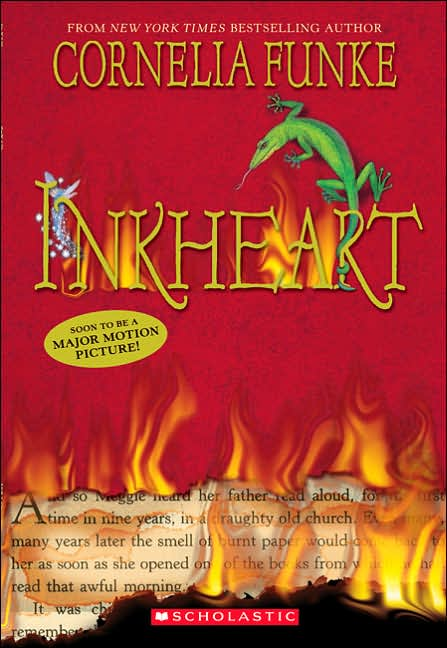 Inkheart (Inkheart Trilogy #1) book cover