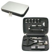 Product Image. Title: 24 Piece Tool Kit and Case