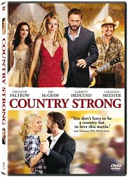 Country Strong starring Gwyneth Paltrow: DVD Cover