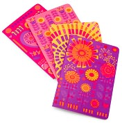 Product Image. Title: Jonathan Adler Bohemian Bliss Miniature Journals Set of 4 (4x6)