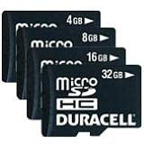 Product Image. Title: Duracell DU-2IN1-08G-R 8 GB MicroSD High Capacity (microSDHC) - 1 Card