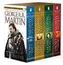 A Game of Thrones 4-Book Boxed Set (A Song of Ice and Fire Series) by George R. R. Martin: Book Cover