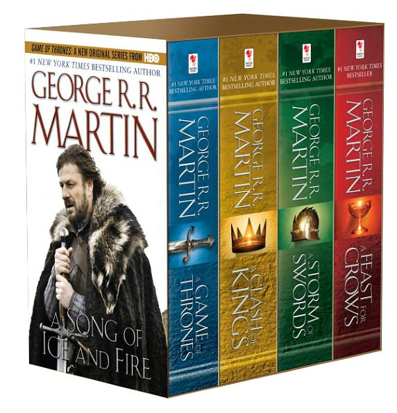 George R. R. Martin - A Song of Ice and Fire. Books 1-5, novella