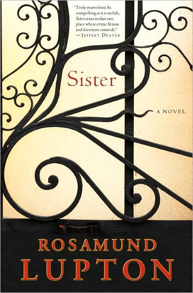 book cover of Sister by Rosamund Lupton