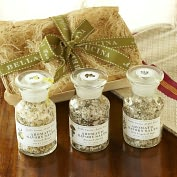 Product Image. Title: Savory Salt Sampler Gift Set - Oregano, Citrus and Porcini