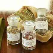 Product Image. Title: Savory Salt Sampler Gift Set - Lavendar, Rose and Calendula