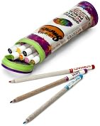 Product Image. Title: Smencils Gourmet-Scented Colored Pencils in Pouch -Set of 10