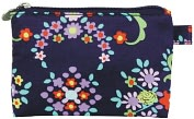 Product Image. Title: Molly Pouch, Small in English Garden Navy